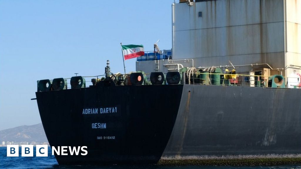 Iran tanker row: Released ship wanted by US 'seen off Syria'