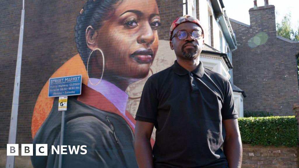 EastEnders unveils 'timely' mural of black woman