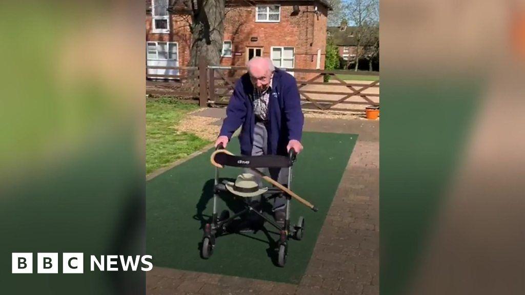 Coronavirus: The 99-year-old war veteran raising money for the NHS ...
