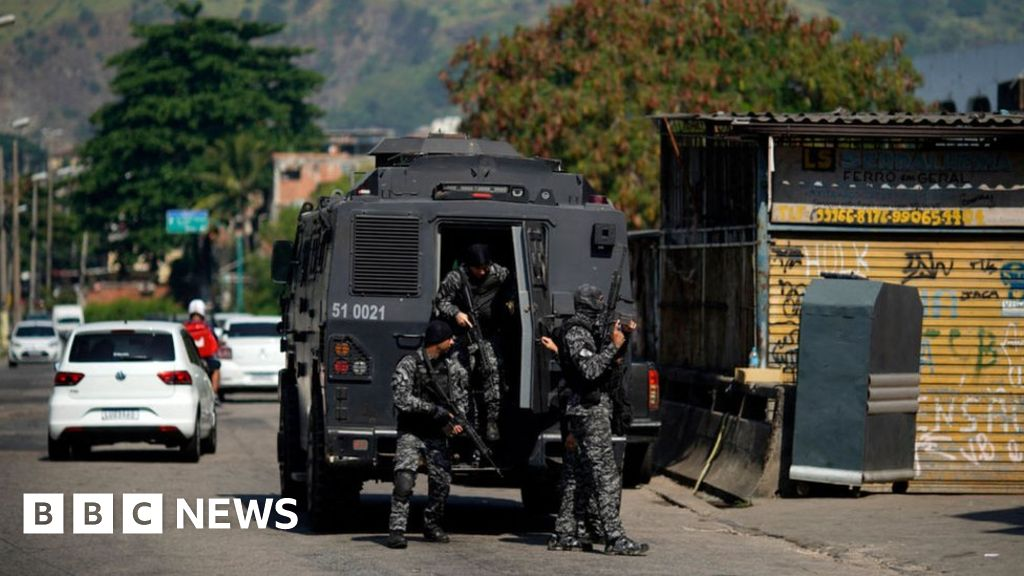 Brazil: At least 25 killed in Rio de Janeiro shoot-out