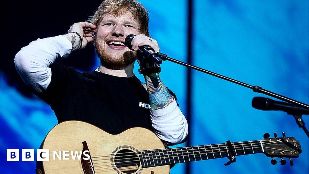 Ed Sheeran named richest UK celebrity aged 30 or under