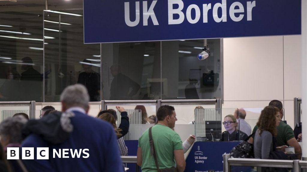 Uk To Scrap Passenger Landing Cards Bbc News