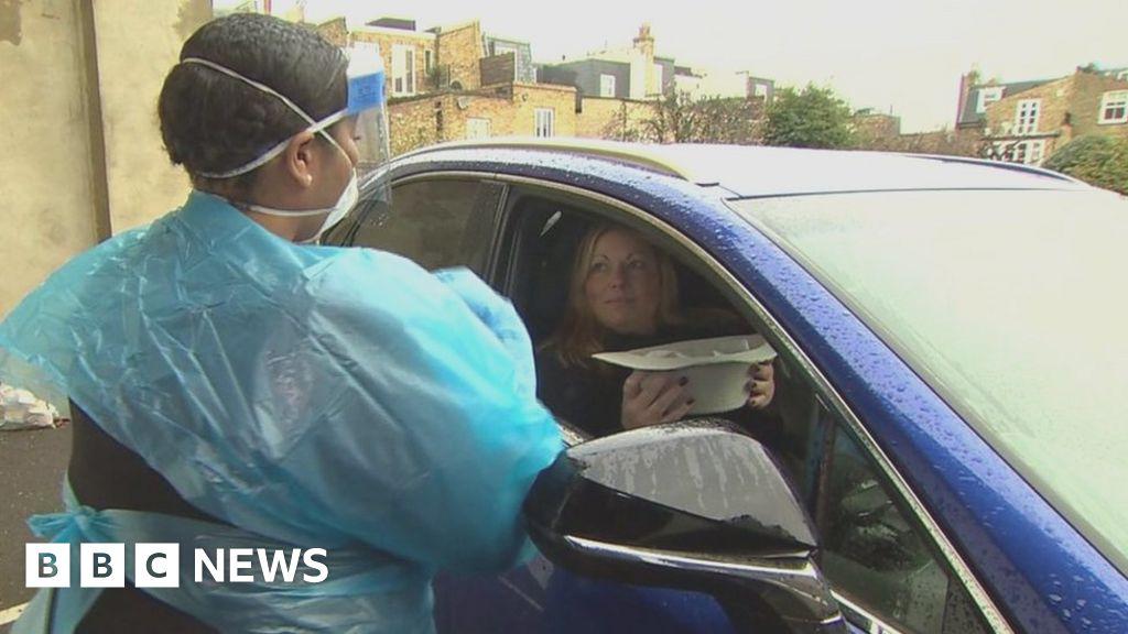 How coronavirus 'drive-through' NHS testing works