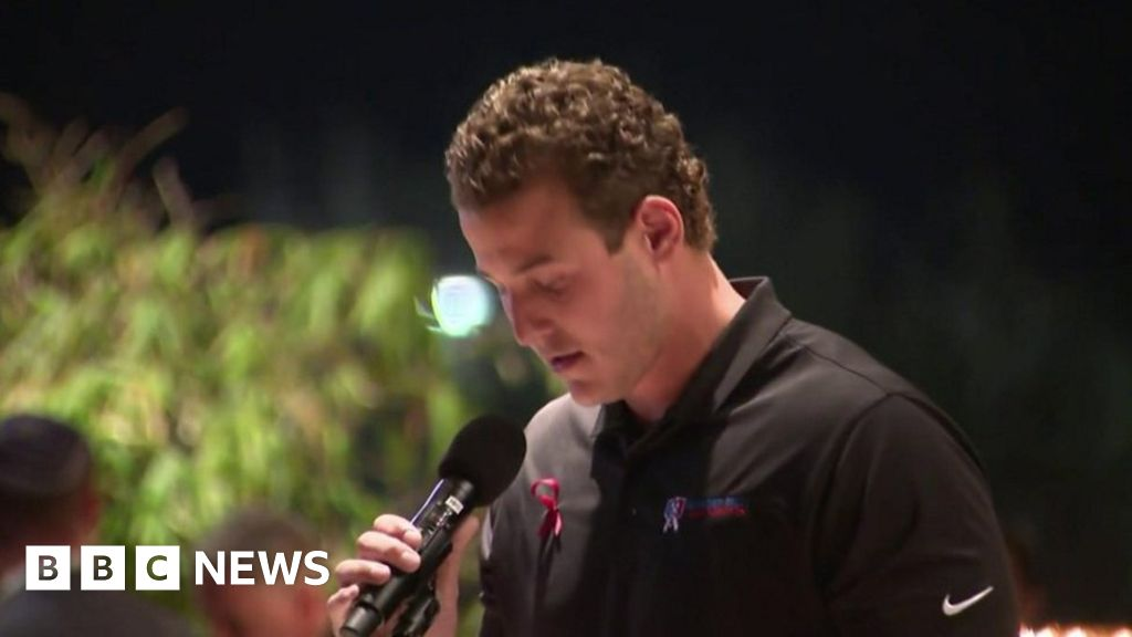 Florida shooting: Chicago Cubs' Anthony Rizzo speaks at vigil
