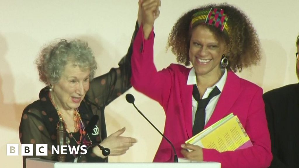 Margaret Atwood and Bernardine Evaristo share Booker Prize thumbnail