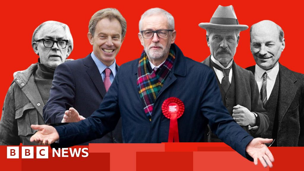 Labour guide: A century of UPS and downs in the charts