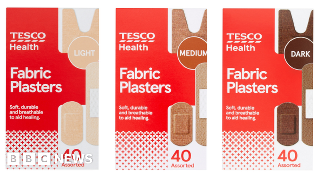 Tesco to sell plasters in different skin tones