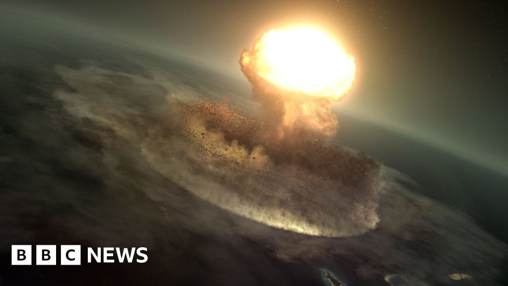 Splosh How The Dinosaur Killing Asteroid Made Chicxulub Crater