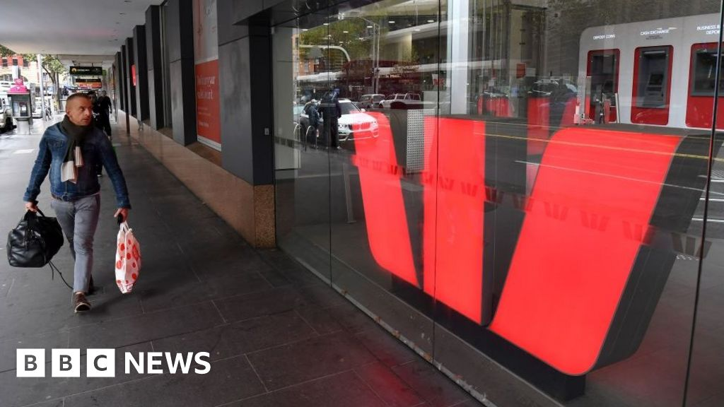 Westpac bank to pay record Australian fine over laundering breaches - BBC News