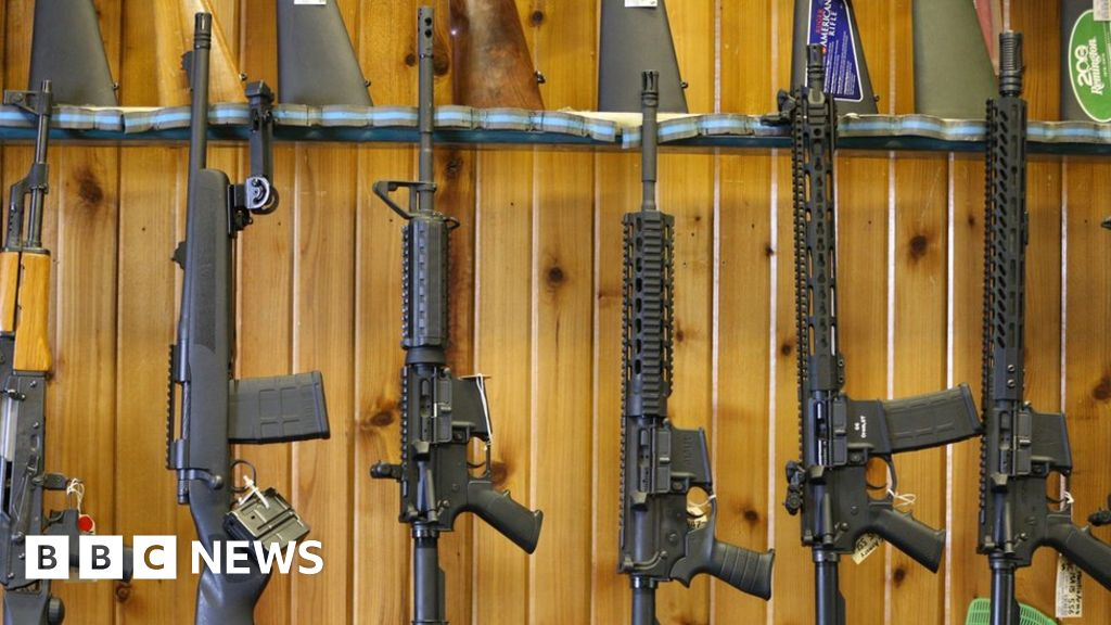 US gun debate: Four dates that explain how we got here - BBC News