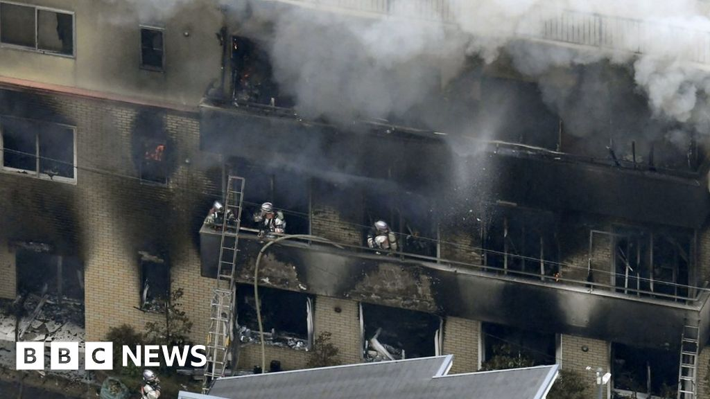 One dead in suspected arson at Japan anime studio