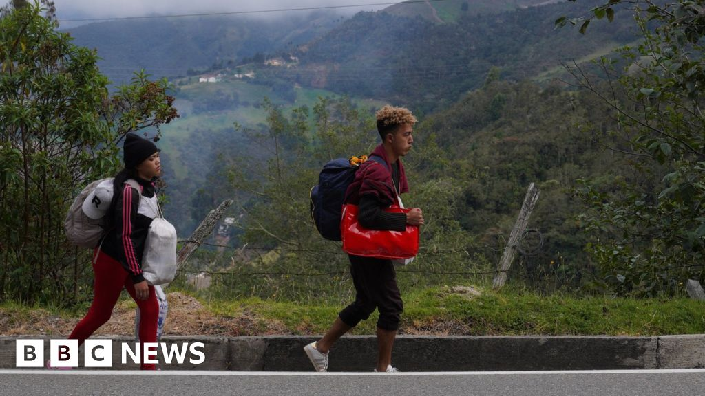 Venezuelans brave 'brutal' migrant route made tougher by pandemic