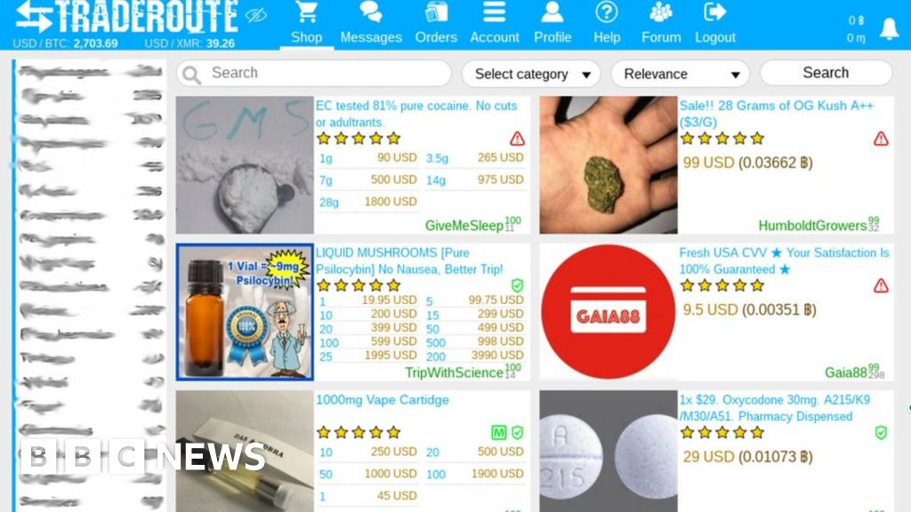 Dark web markets boom after AlphaBay and Hansa busts - BBC News
