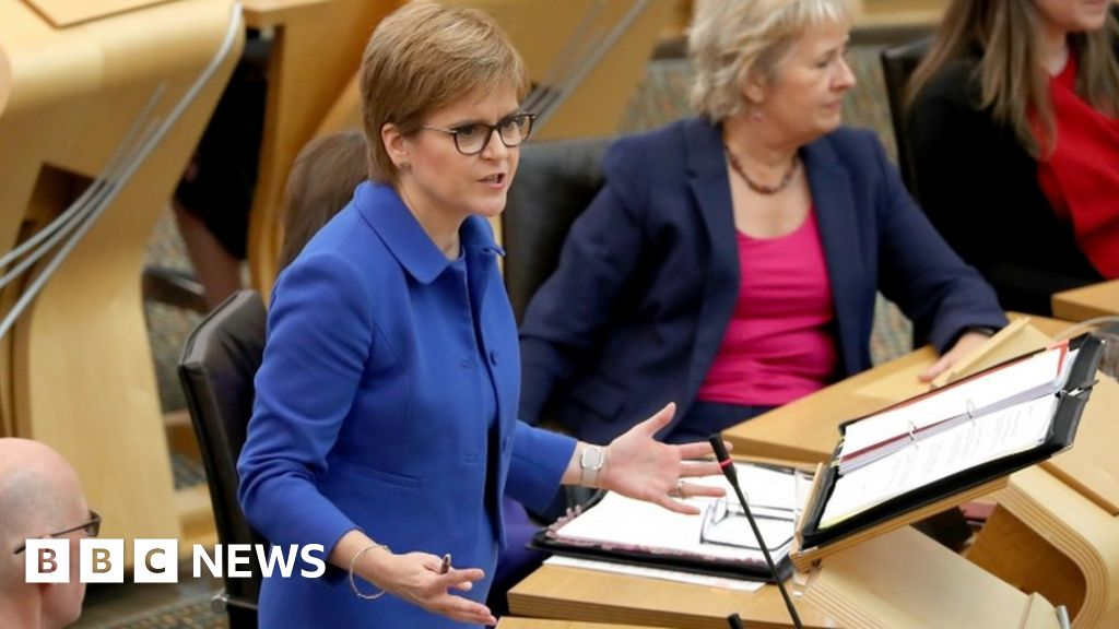 Scotland Brexit: Sturgeon tells MSPs she would 'relish' an election