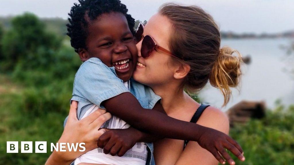 Boy arrives in UK after Uganda adoption battle