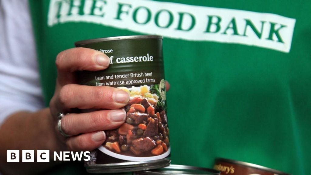 Food banks increasing in schools for pupils' families