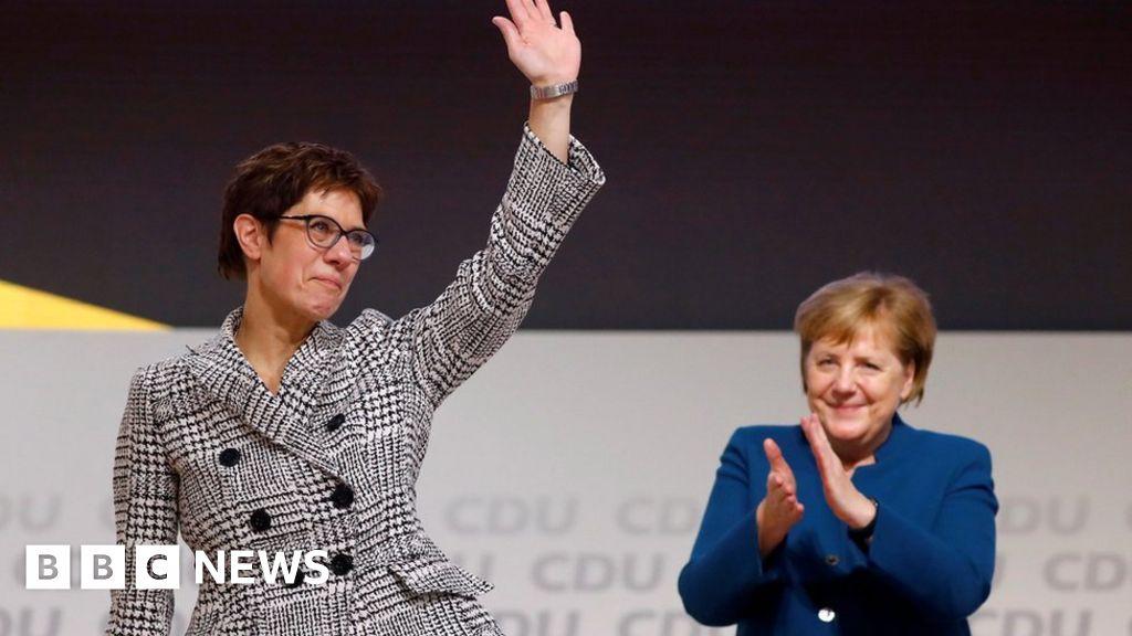 Annegret Kramp-Karrenbauer: la elección de Merkel fue elegida líder de la CDU