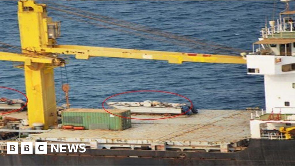 Iran's 'spy ship' damaged by blast in Red Sea