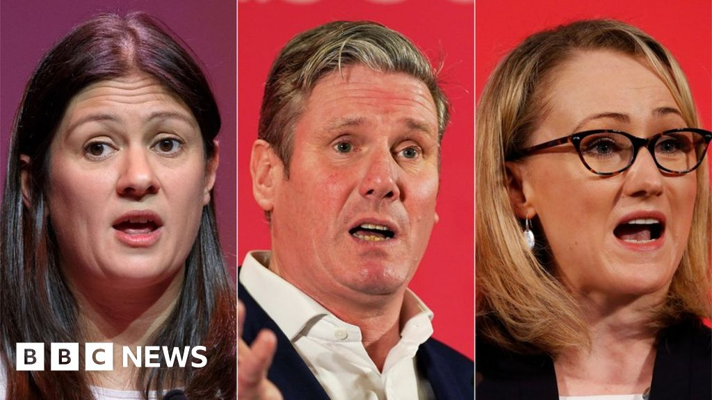 Labour leadership: members voting in three-way competition