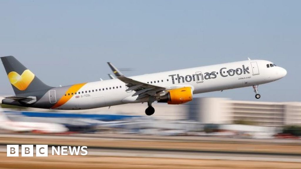 Thomas Cook reassures holidaymakers after shares plunge