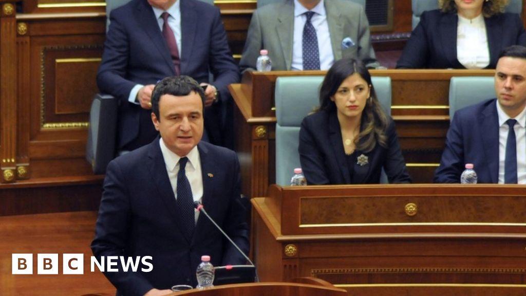 Coronavirus row helps topple Kosovo government