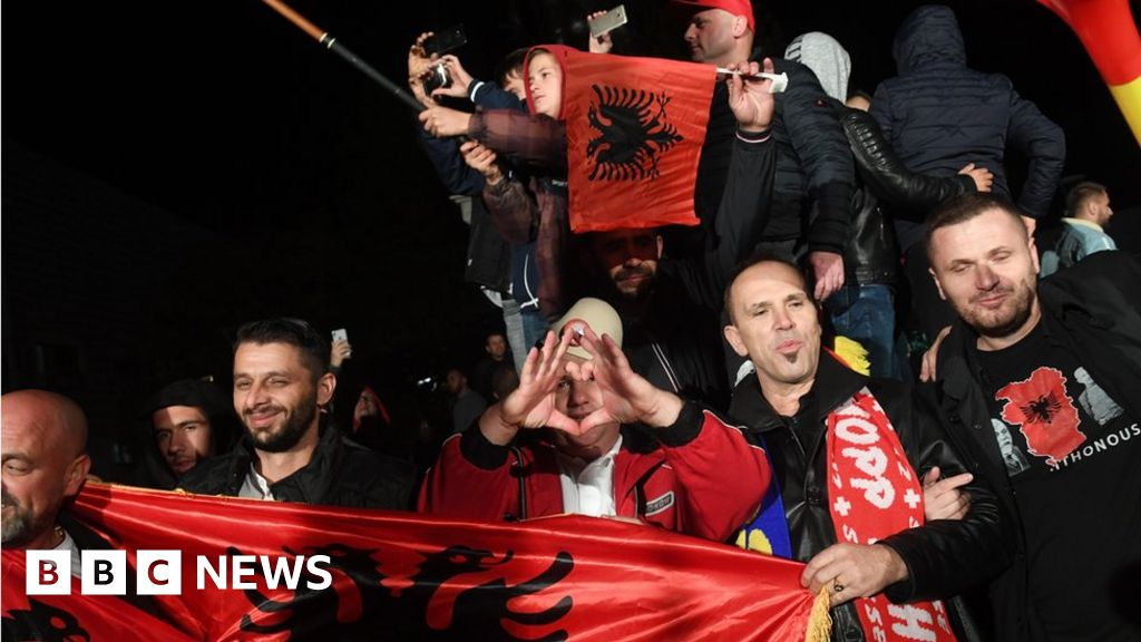 Kosovo election: Opposition parties claim win
