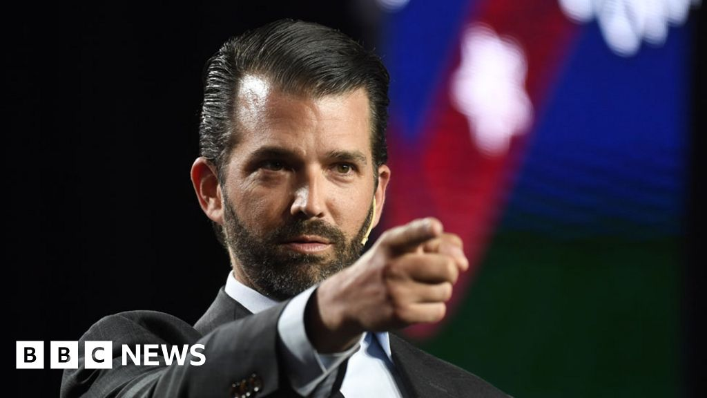 US results: Trump sons attack Republicans for 'weak' backing
