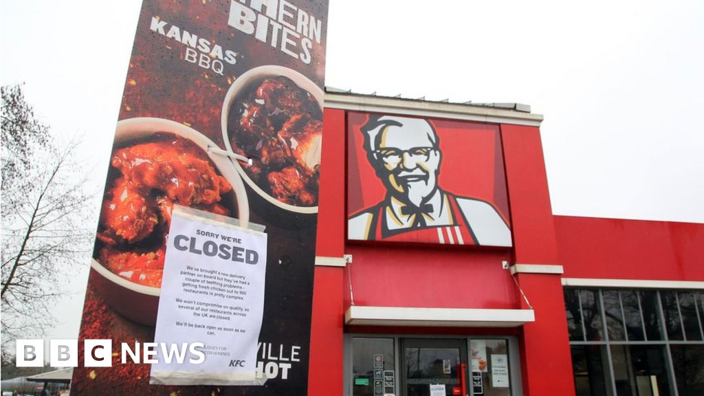 KFC\'s apology for running out of chicken is pretty cheeky - BBC News