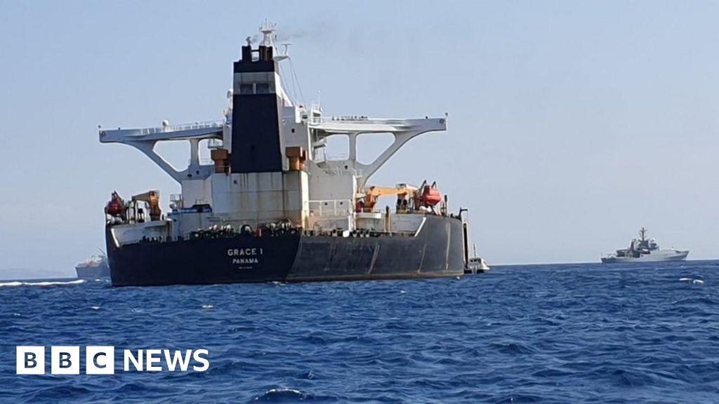 Oil tanker bound for Syria detained in Gibraltar