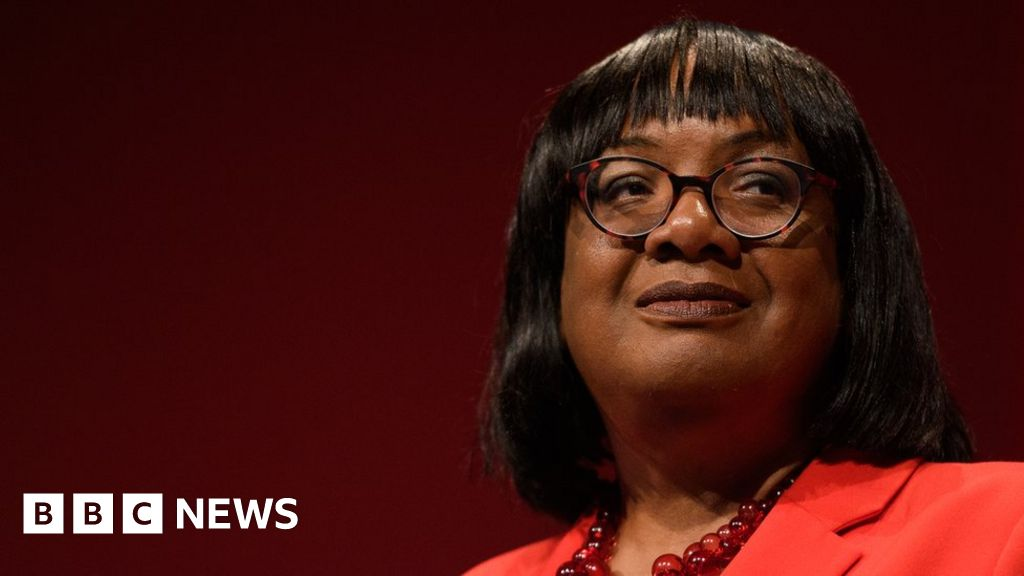 Diane Abbott, to resign from the shadow Cabinet of new Labour leadership
