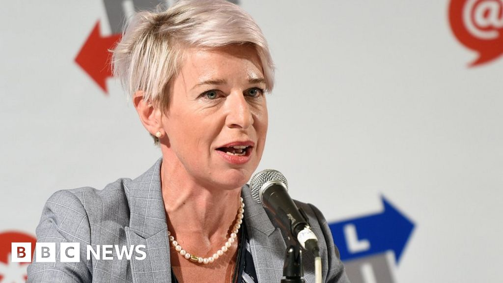 Katie Hopkins permanently blocked from Twitter