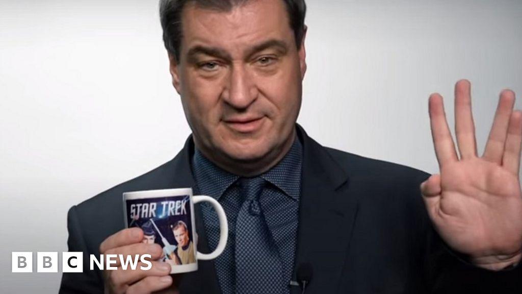 Markus Söder: A Star Trek fan who could bravely drive Germany