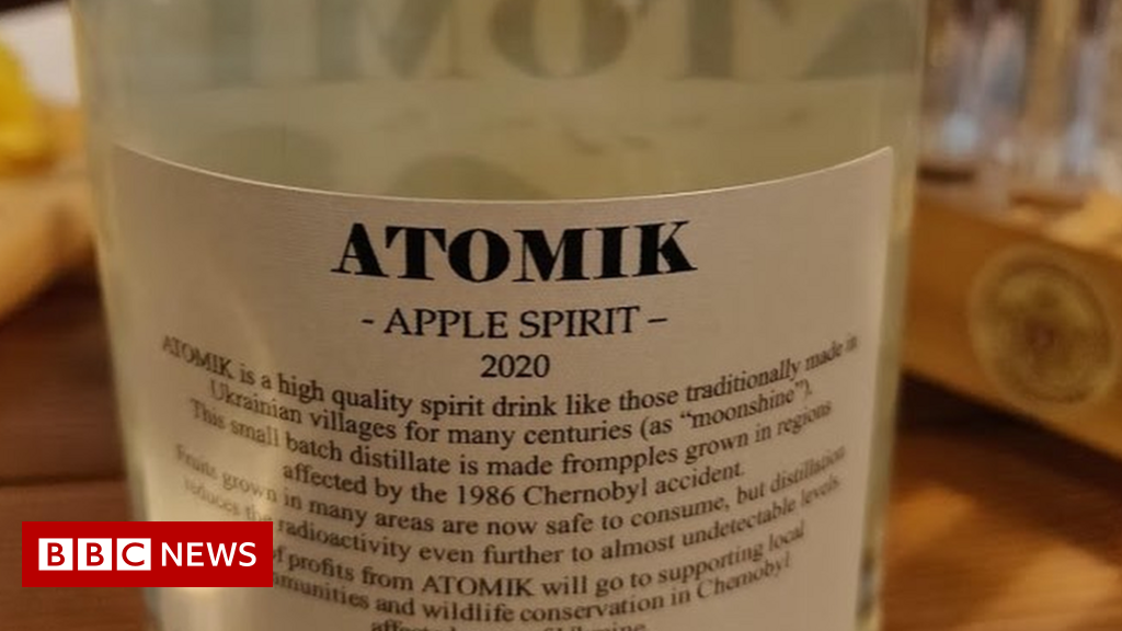 Chernobyl spirit drinks seized by Ukraine security teams