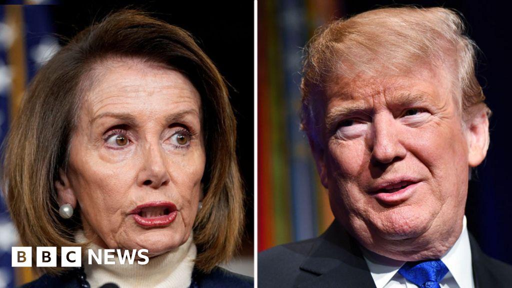 Trump cancels Pelosi trip over shutdown