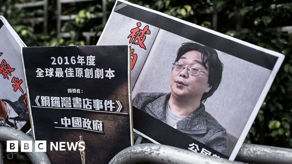 China jails Hong Kong bookseller for 10 years