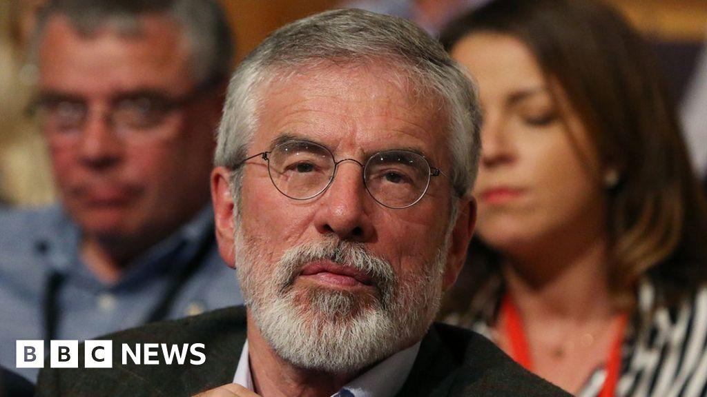 102523566 hi047500045 -'Explosive' thrown at Gerry Adams' home