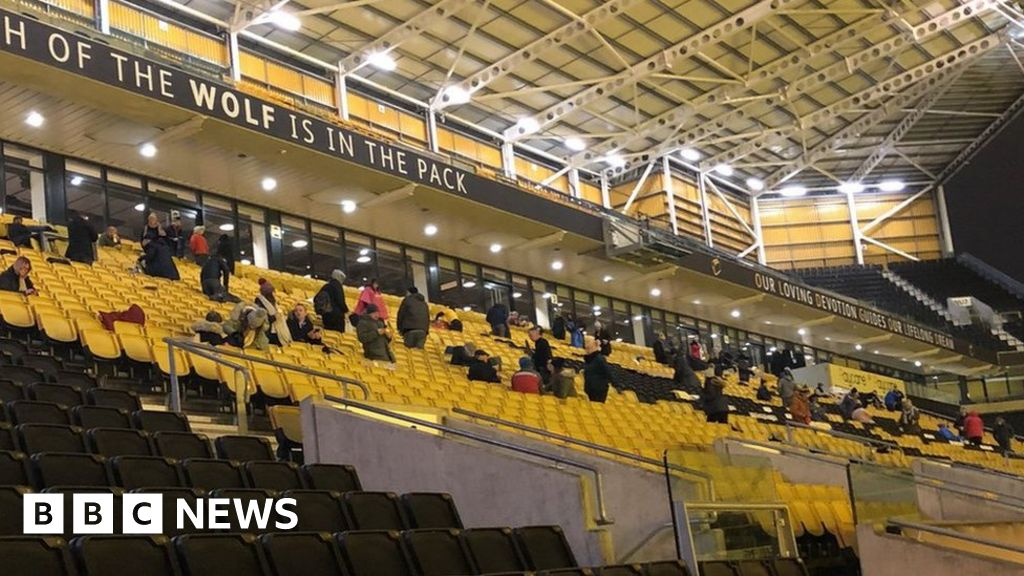 Molineux Stadium sleepout raises £30,000 for homeless