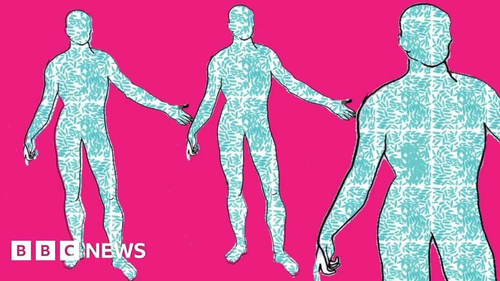More Than Half Your Body Is Not Human Bbc News
