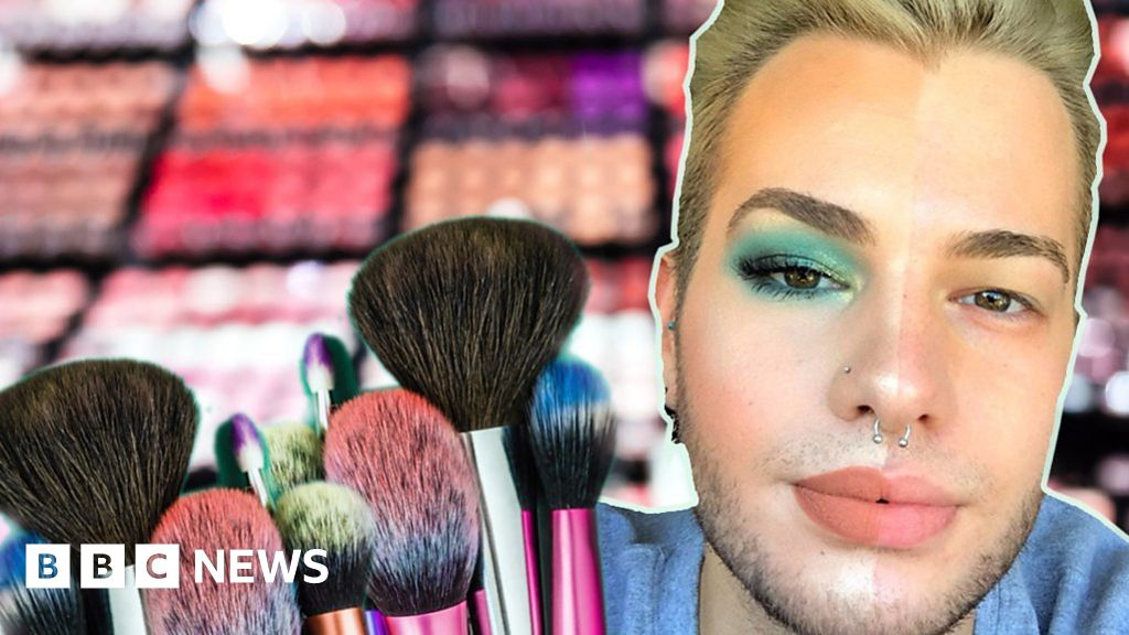 Georgie Aldous: 'Make-up was my coping mechanism after coming out'