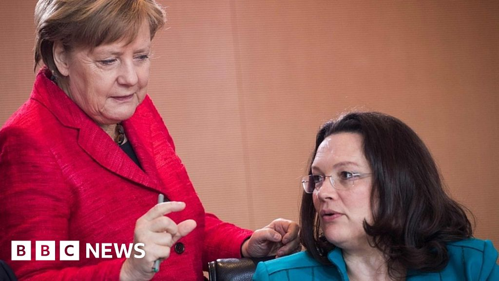 Merkel vows to carry on despite coalition setback thumbnail