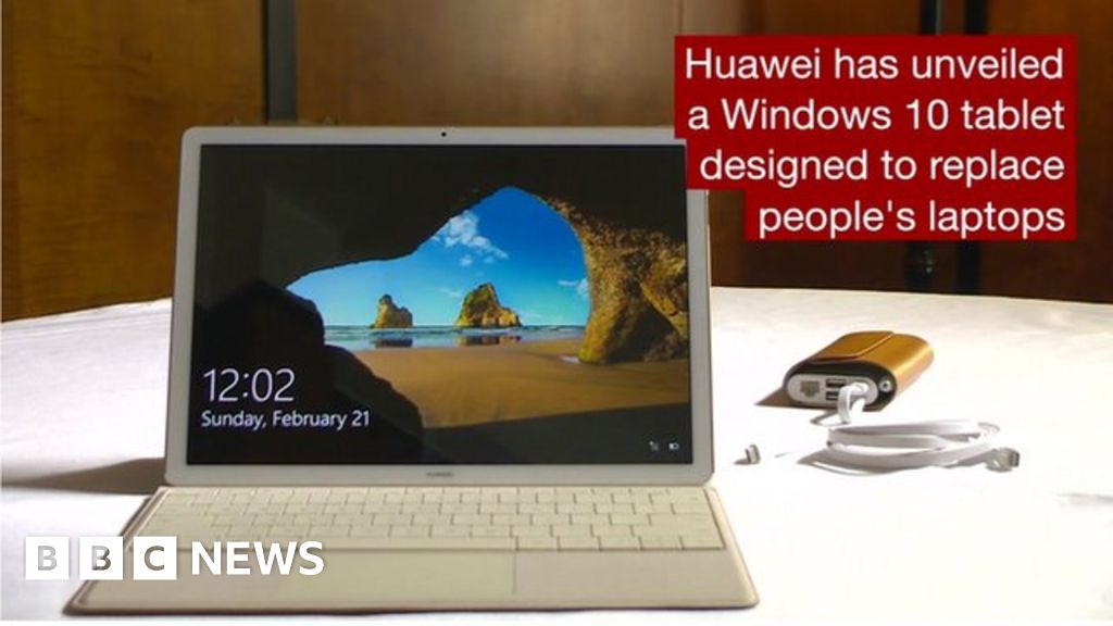 Huawei's MateBook is designed to rival Windows laptops