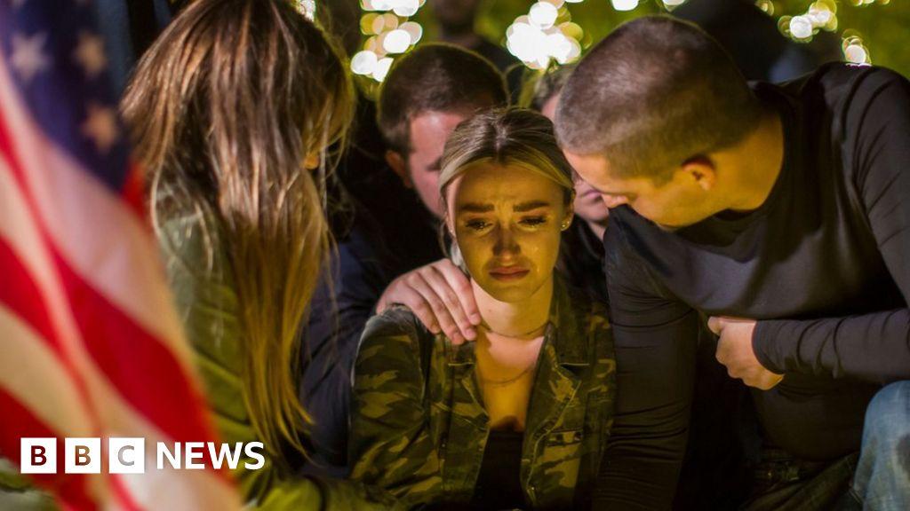 Vegas survivor dies in California attack