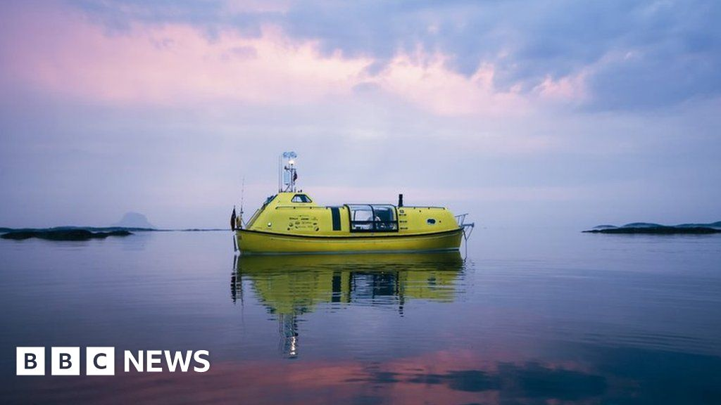 Two men and a dog chasing an Arctic dream in a lifeboat