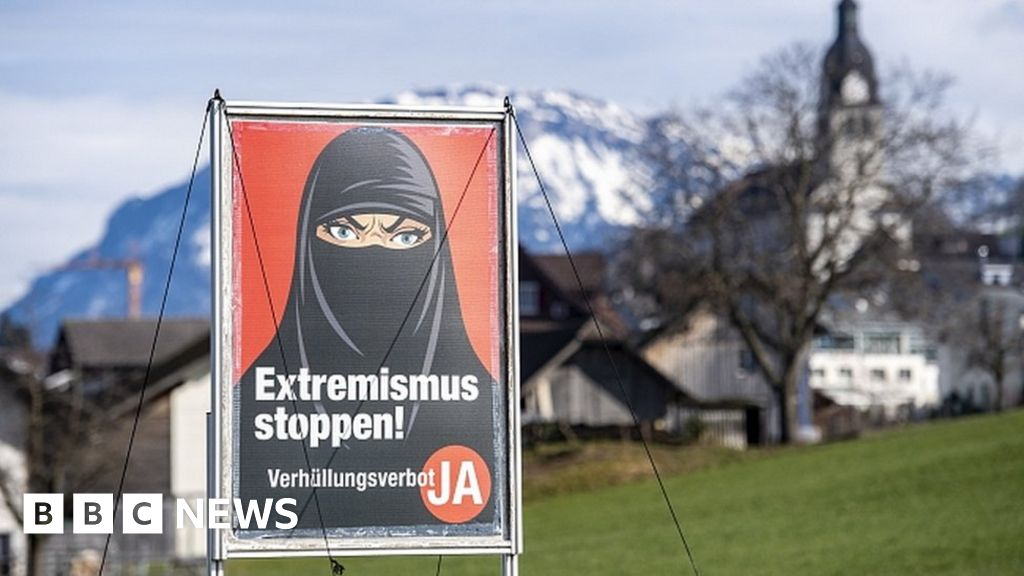 Switzerland referendum: Voters support ban on face coverings in public