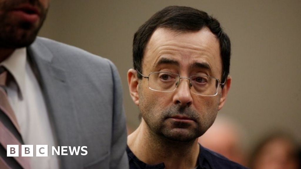 Disgraced US Olympics doctor jailed