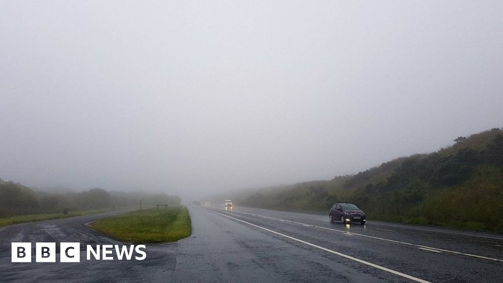 yellow weather warning for rain in northern ireland