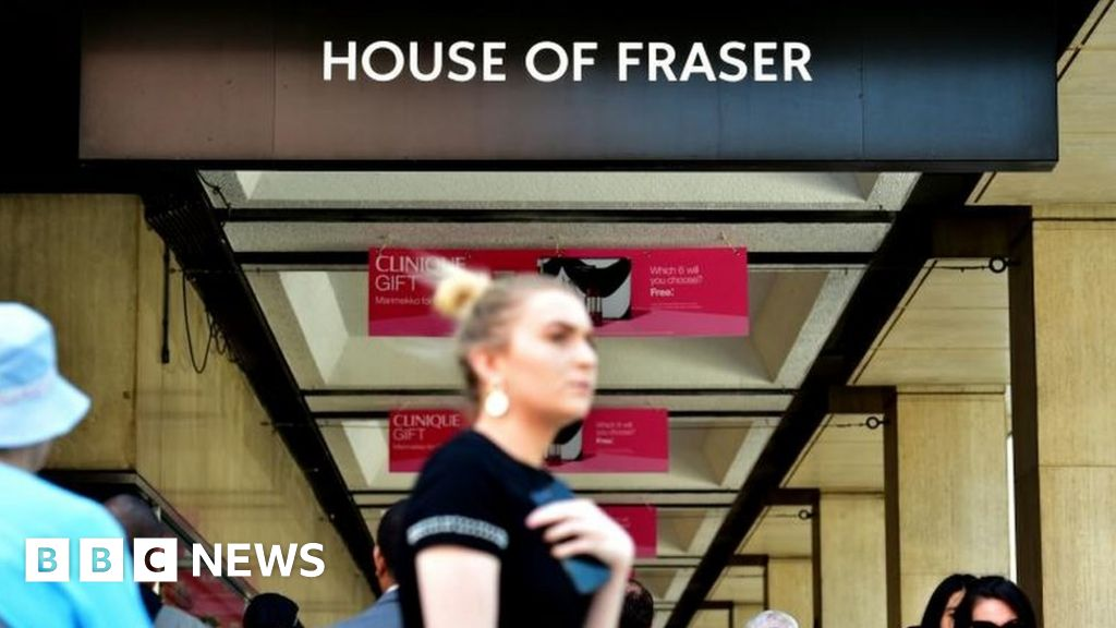 House Of Fraser Rejects Collapse Reports Bbc News
