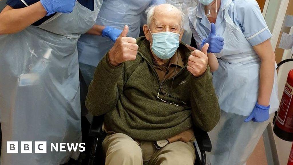 Coronavirus: Keith Watson, 101, recovering from Covid-19