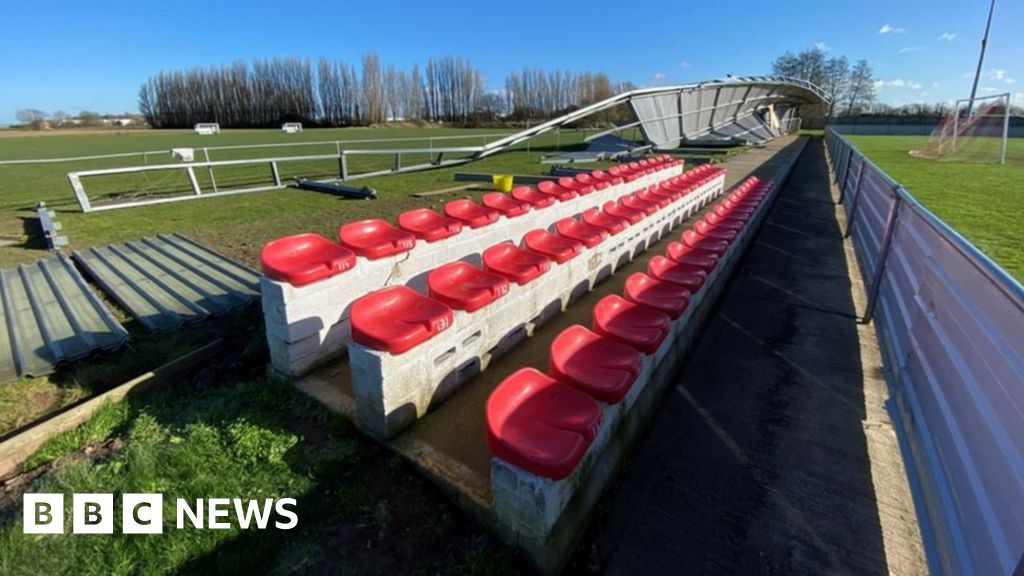 Stand smashed by Storm Ciara to be dismantled