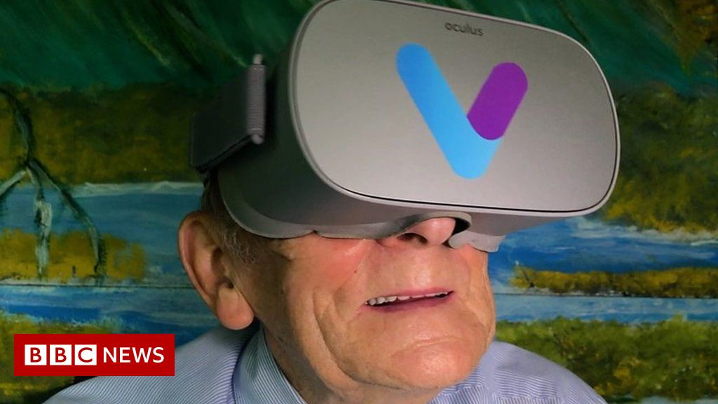 How virtual reality is helping people with dementia BBC News